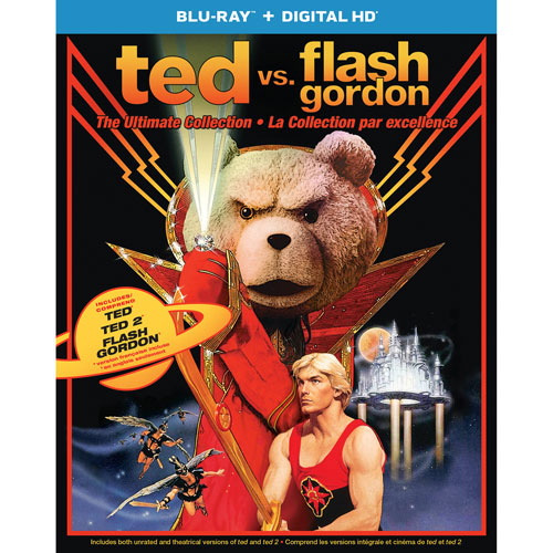 Ted vs Flash Gordon: Ultimate Collection (Blu-ray) (2016)