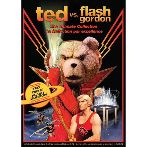 Ted vs Flash Gordon: Ultimate Collection (2016)