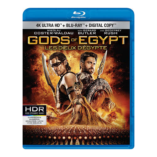 Gods of Egypt (Ultra HD 4K) (combo Blu-ray) (2016)