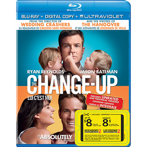 The Change-Up (With Movie Cash) (Blu-ray) (2011)