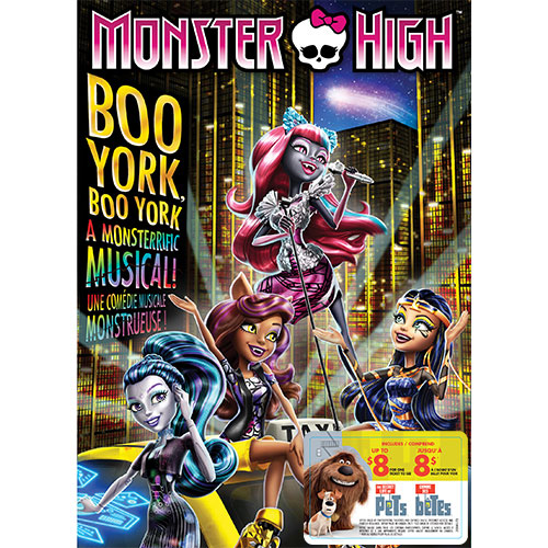 Monster High: Boo York, Boo York (With Movie Cash)