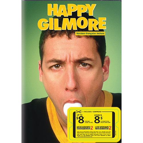 Happy Gilmore (avec movie cash) (1996)