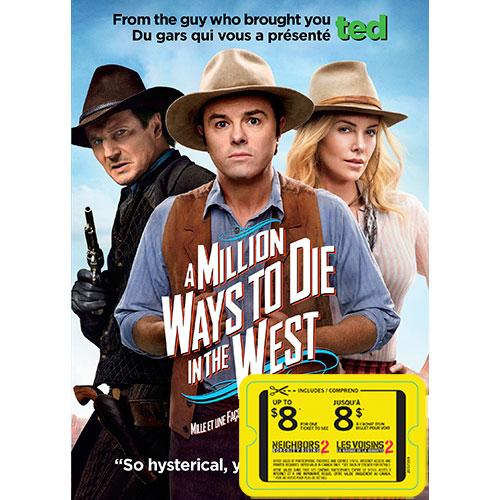 Million Ways to Die West (avec movie cash)
