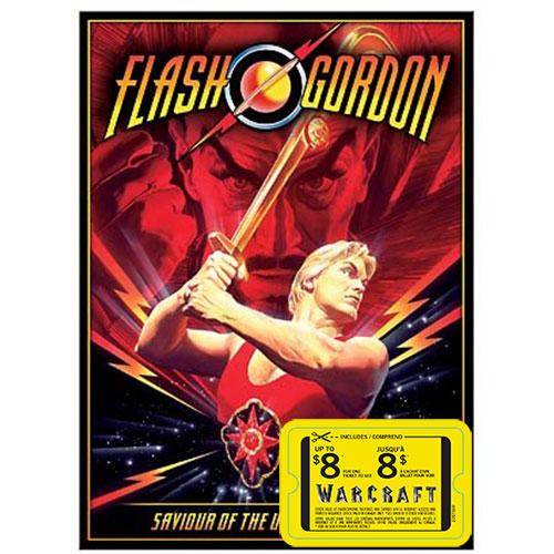 Flash Gordon (With Movie Cash)