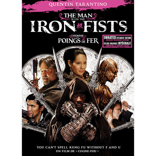 Man with the Iron Fists (avec movie cash)