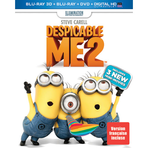 Despicable Me 2 (With Movie Cash) (Blu-ray Combo)