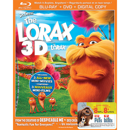 Dr. Seuss' The Lorax (With Movie Cash) (3D Blu-ray Combo) (2012)