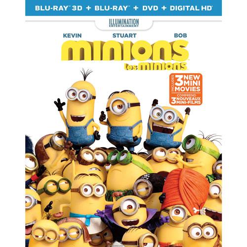 Minions (With Movie Cash) (Blu-ray Combo)