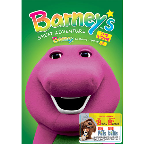 Barney's Great Adventure: The Movie (With Movie Cash)