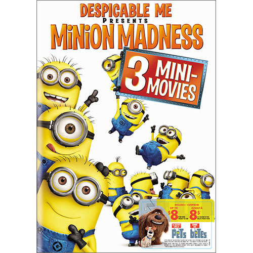 Despicable Me Presents Minion Madness (avec movie cash)