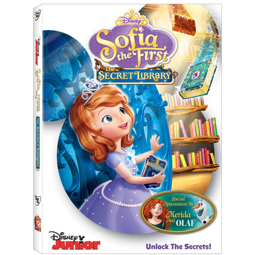 Sofia the First: The Secret Library (anglais)