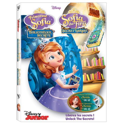 Sofia the First: The Secret Library (Bilingual)
