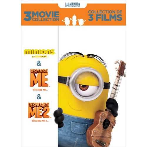 Despicable Me 3-Movie Collection (avec Movie Cash)
