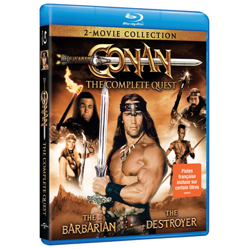 Conan: The Complete Quest Double-Features (Blu-ray)