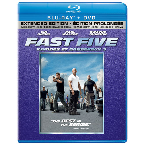 Fast Five (With Movie Cash) (Blu-ray) (2011)