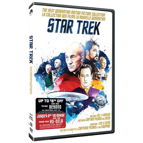 Star Trek: The Next Generation Motion Picture Collection (With Movie Money)