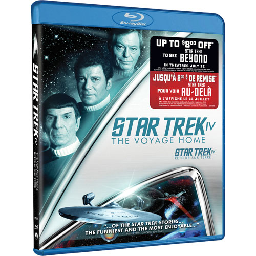 Star Trek IV: The Voyage Home (With Movie Money) (Blu-ray)