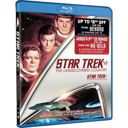 Star Trek VI (avec Movie Money) (Blu-ray)