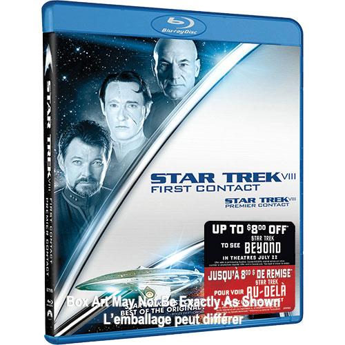 Star Trek VIII: First Contact (With Movie Money) (Blu-ray)