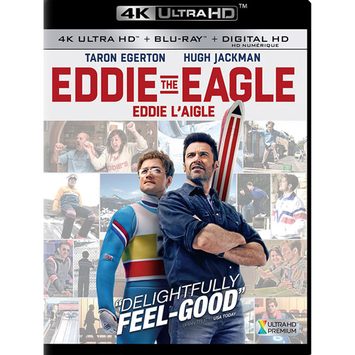 Eddie Eagle (4K Ultra HD) (Blu-ray) (2016)