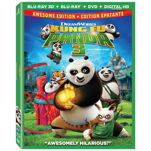 Kung Fu Panda 3 (3D Blu-ray) (2016)