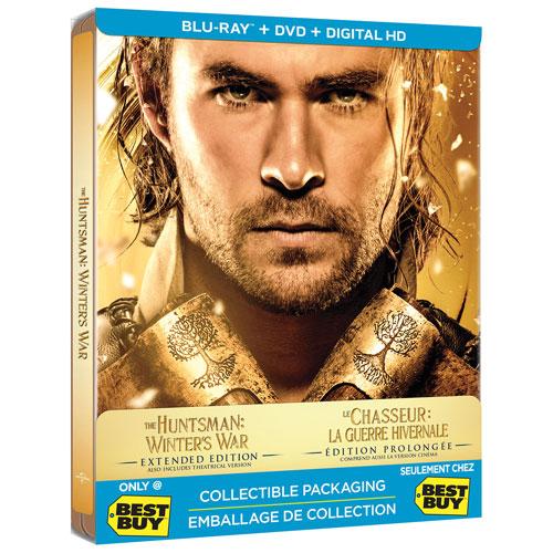 The Huntsman: Winter's War (coffret SteelBook) (Seulement à Best Buy) (Blu-ray) (2016)