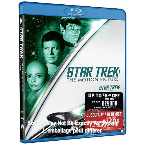 Star Trek: Motion Picture (avec Movie Money) (Blu-ray)
