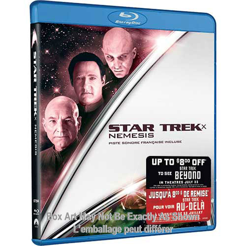 Star Trek X: Nemesis (With Movie Money) (Blu-ray)