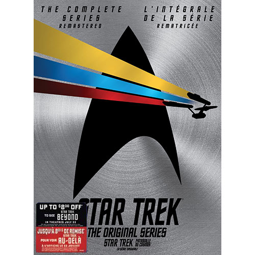 Star Trek: The Original Series: The Complete Series (avec Movie Money)