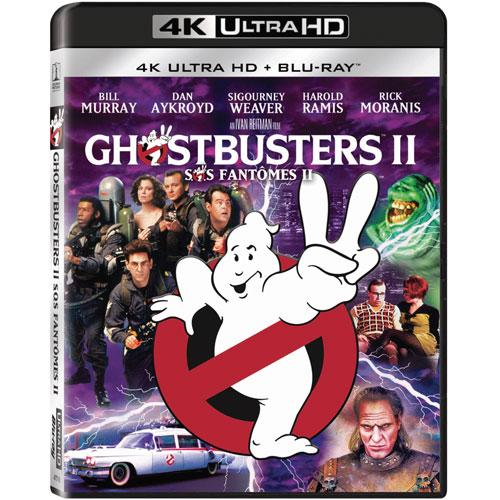 Ghostbusters II (4K Ultra HD) (Blu-ray Combo) (1989)