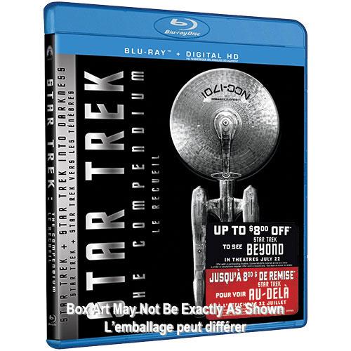 Star Trek: The Compendium (With Movie Money) (Blu-ray) (2016)