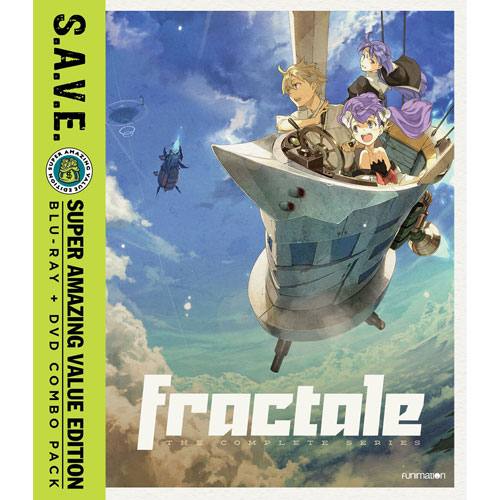 Fractale: Complete Series (Combo Blu-ray) (2016)