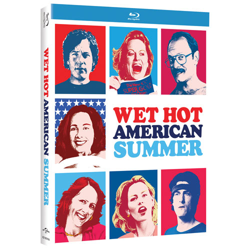 Wet Hot American Summer (Pop Art) (Blu-ray) (2001)