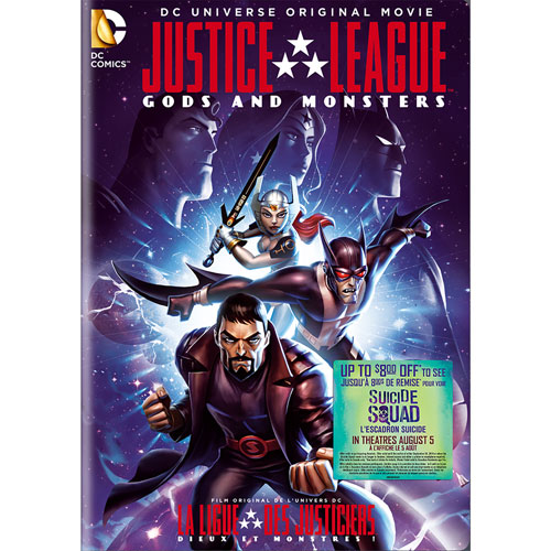 Justice League: Gods & Monsters (bilingue) (avec Movie Cash)