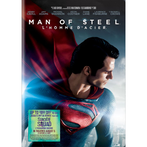 Man Of Steel (Bilingual) (With Movie Cash)