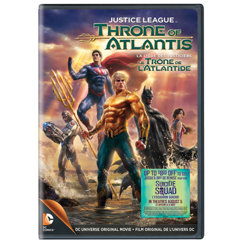 Justice League: Throne Of Atlantis (Bilingual) (With Movie Cash)