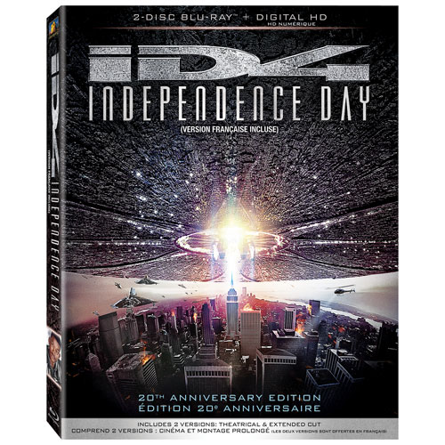 Independence Day (20th Anniversary Edition) (Blu-ray) (1996)