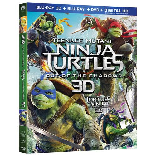 Teenage Mutant Ninja Turtles: Out Of The Shadows (3D Blu-ray Combo) (2016)