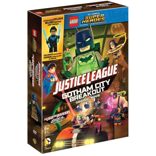 LEGO DC Super Heroes: Justice League: Gotham City Breakout (avec Figurine) (bilingue)