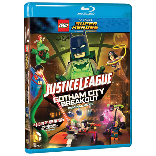 LEGO DC Super Heroes: Justice League: Gotham City Breakout (bilingue) (Blu-ray)