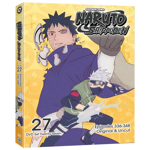 Naruto Shippuden Uncut Set 27