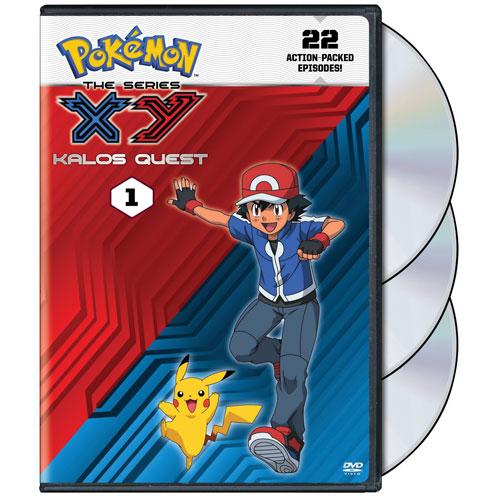 Pokemon Series XY Kalos Quest Set 1