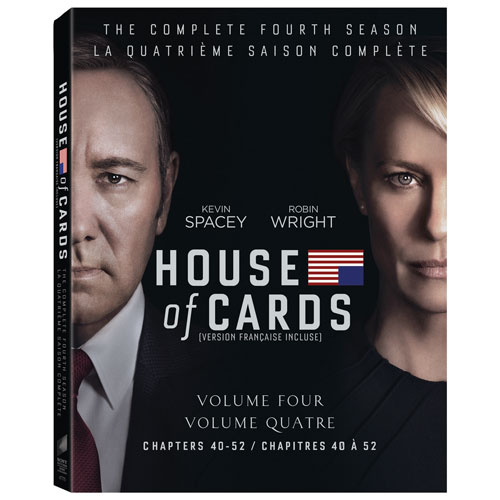 House Of Cards: The Complete Fourth Season (Bilingual) (Blu-ray)