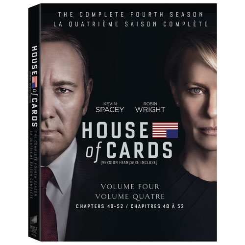 House Of Cards: The Complete Fourth Season (Bilingual)