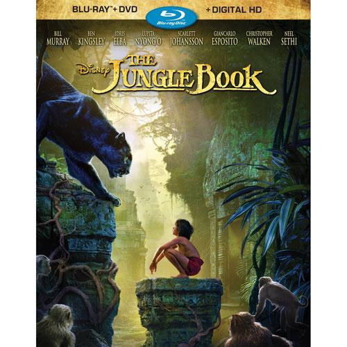The Jungle Book (English) (Blu-ray Combo) (2016)