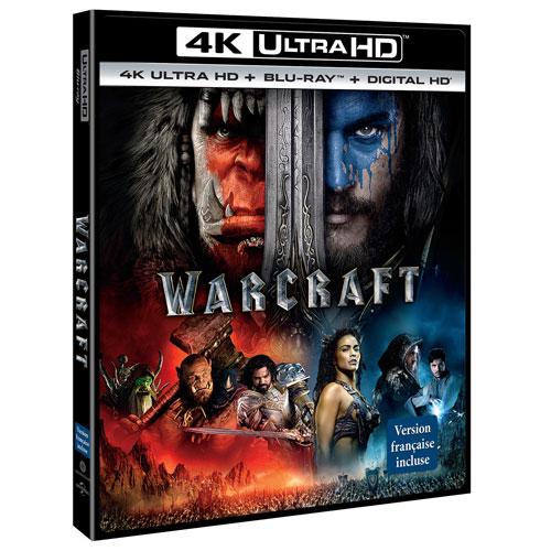 Warcraft (4K Ultra HD) (Blu-ray Combo) (2016)