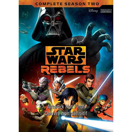 Star Wars Rebels: l'intégrale de la deuxième saison (bilingue)
