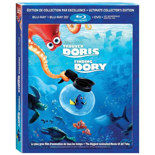 Finding Dory (Bilingual) (3D Blu-ray Combo) (2016)