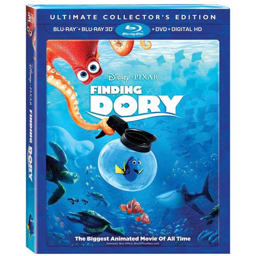 Finding Dory (English) (3D Blu-ray Combo) (2016)