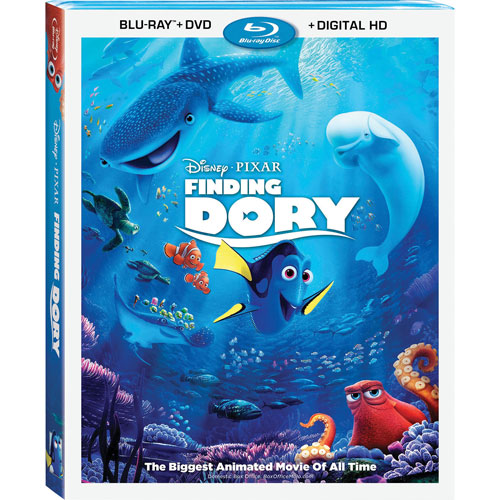 Finding Dory (anglais) (combo Blu-ray) (2016)